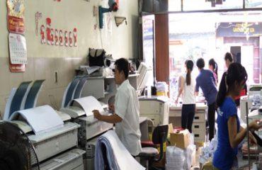 Mở cửa hàng photocopy, tiệm in ấn có phải đóng thuế không