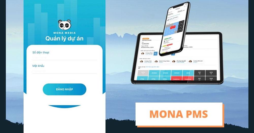Phần mềm quản lý dự án Mona PMS